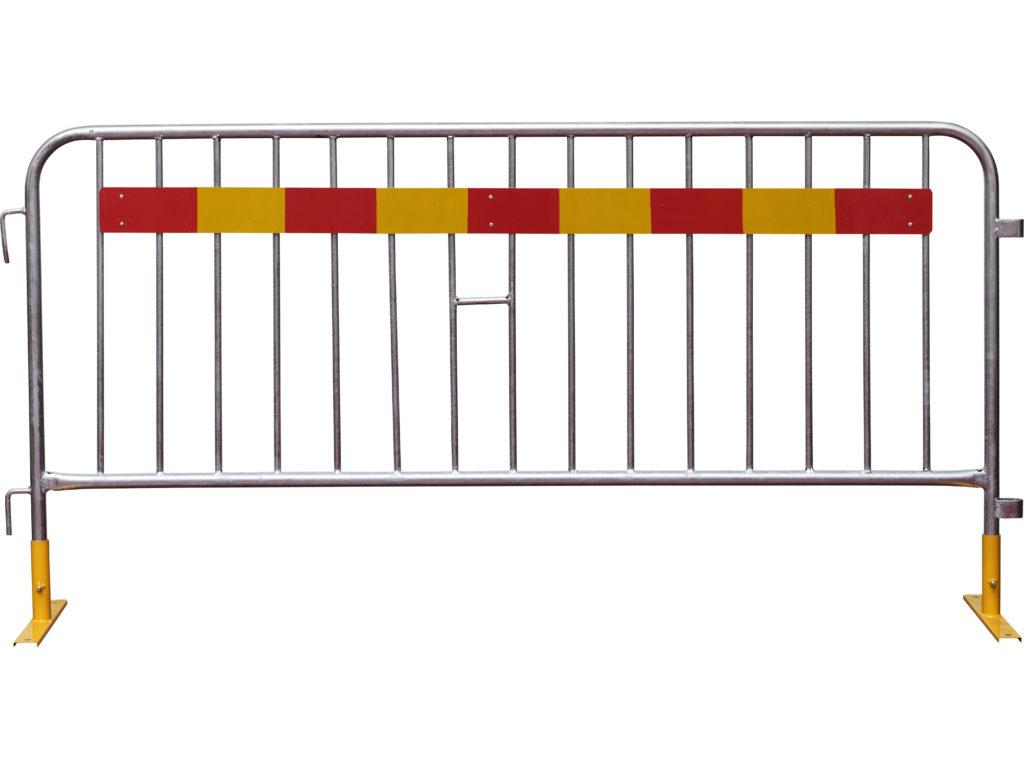 kravallstaket-löstagbar-fot-med-reflex