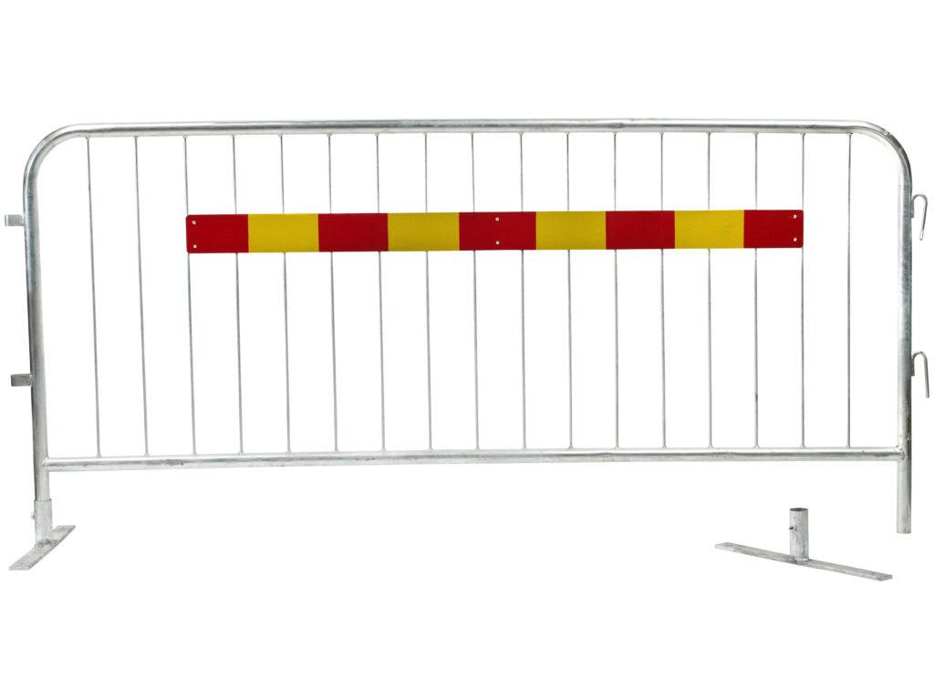 kravallstaket-med-reflex-löstagbar-fot