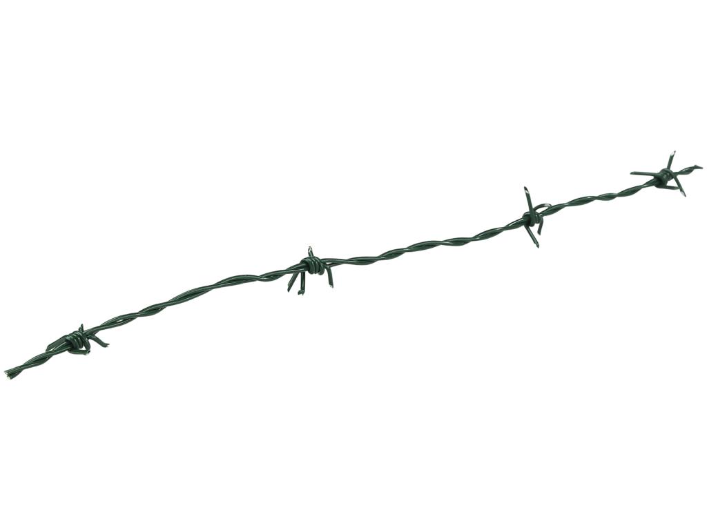 Mörkgrön taggtråd